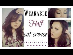 Very wearable day ☀️ or night Half cut crease smoked out - YouTube