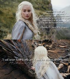 Image may contain: one or more people and text The Mother Of Dragons, A Dance With Dragons, The Things They Carried, Game Of Thones, Growing Strong, The North Remembers, The Best Series Ever, Iron Throne, Badass Women