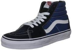 Vans Unisex Sk8-Hi Navy Skate Shoe 6 Men US / 7.5 Women U...