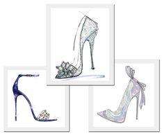 O tão desejado sapato de cristal assinado por: Jerome Rousseau, Jimmy Choo e Nicholas Kirkwood