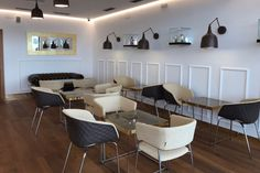 Uni-La chairs, at Funderele, Marina El Portet De Denia, Alicante, Spain. Hospitality, Interior, Design, Public, Style, Inspiration, Furniture, Seating, Dining, Restaurant, Europe, Travel.