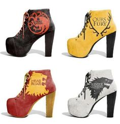 Game of Thrones, I want them all!!
