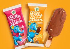 Billy Bom – дизайн упаковки мороженого от GOOD!