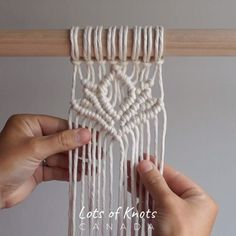 New Cost-Free Macrame Patterns ideas Concepts Master everything you need to understand to build breathtaking macrame projects. Macrame Wall Hanging Patterns, Macrame Plant Hangers, Free Macrame Patterns, Macrame Supplies, Macrame Projects, Macrame Design, Macrame Art, How To Macrame, Art Macramé