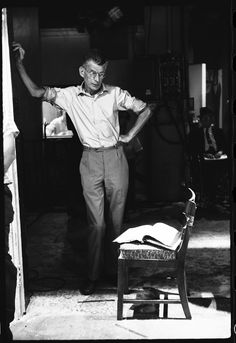 Samuel Beckett, Photograph by Steve Schapiro.