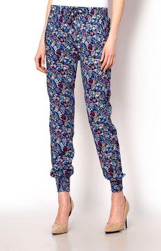 Liberty alladynki wzorzyste - Spodnie, Sklep internetowy Angel.pl | Atrakcyjne ceny i wyprzedaże. Kup teraz |jak na zdjęciu - L/XL,M/L,XL/2XL