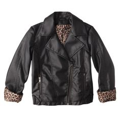Girls Faux Leather Jacket Target