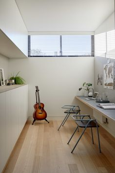 Granny pods addition The House Of Three Generations By Po Co Architecture Living Area, Living Spaces, Modern Small House Design, Long House, Prefab Cabins, Melbourne House, Open Plan Living, Architect Design, Residential Architecture