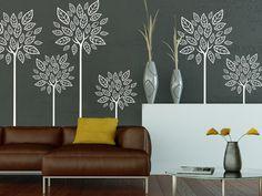 Für Dieses Tolle Design Einfach Die Wandtattoo Bäume Im Ethno Look  Mehrfache Miteinander Kombinieren.