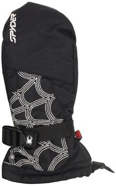 Spyder Boy's Over Web Mitten, Black/White, Medium by Spyder. $44.95. From the Spyder Active Sports accessories collection.