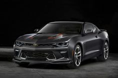 The 2017 Chevrolet Camaro gains special trim pieces for its 50th Anniversary Edition model.