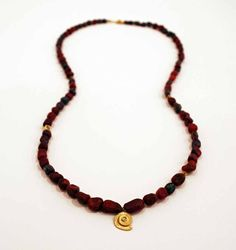 Junction Art Gallery - Poppy Dandiya rough ruby necklace Ruby Necklace, Beaded Necklace, Sculpture Painting, Ceramic Jewelry, Poppy, Art Gallery, Christmas Gifts, Jewellery, Artist