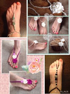 Luxury handmade barefoot sandals from Lilly Dilly's Handmade Accessories, Wedding Accessories, Bare Foot Sandals, Handmade Wedding, Mood Boards, Barefoot, Bespoke, Footwear, Couture