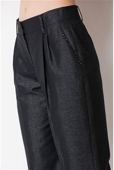 Pantaloni, negri - Deni Cler Milano | Stilago