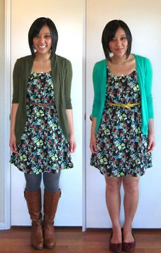 Putting Me Together: Changing Seasons... This is a cute fashion blog!