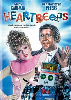 Available in: DVD.The Andy Kaufman/Bernadette Peters robot love story classic Heartbeeps finally makes its way to DVD with this edition from Fiction Movies, Hd Movies, Movies Online, Movies And Tv Shows, Movie Tv, Science Fiction, Films, 2020 Movies, Bernadette Peters