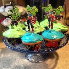Avengers Assemble in Cupcakes - 9.30.2012