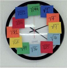 Time to transform my classroom clock!