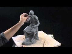 Clay sculpting tutorial - Plato's iPad - YouTube Pretty amazing to watch this process in fast forward.