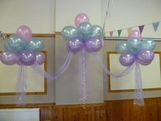 Floating Balloon Clouds - Ideal to decorate the head table at your #wedding reception. #BalloonDecoration