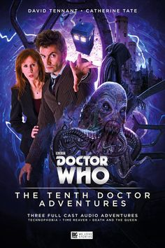 The Tenth Doctor (David Tennant) is coming to Big Finish Audio Adventures, along with Donna (Catherine Tate)!
