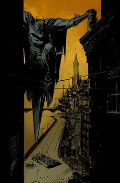 Batman by Sean Murphy, colours by Mike Spicer *
