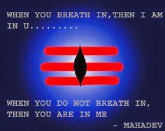 Maha means gretest and deva means divine being. Mahadeva is God Siva and his divine Shiva Shambo, Rudra Shiva, Shiva Art, Shiva Statue, Krishna, Shiva Shankar, Vedic Mantras, Sanskrit Quotes, Lord Shiva Painting