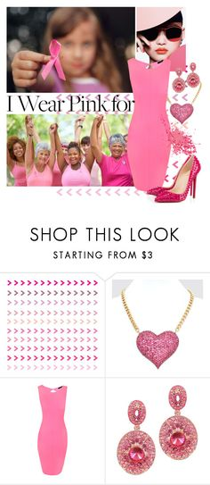 """""""Ladies and Young Ladies"""" by shoppe23 ❤ liked on Polyvore featuring Jane Norman, Christian Louboutin and IWearPinkFor"""