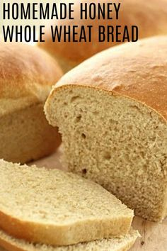 Out of all the great recipes in your recipe box, there is just something about bread that keeps you going back again and again. This Copycat Great Harvest Honey Wheat Bread Recipe will have you wanting to fire up that oven once more. Copycat Recipes, Bread Recipes, Baking Recipes, Yummy Recipes, Dinner Recipes, Scones, Great Harvest Bread, Honey Wheat Bread, Bread Machine Wheat Bread Recipe