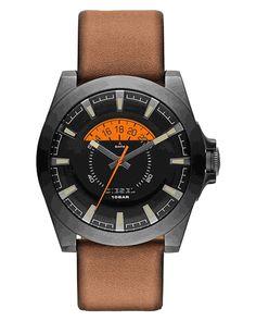 dbcc845df0ad Montre Homme Diesel Arges DZ1660 Cadran noir à compteur orange