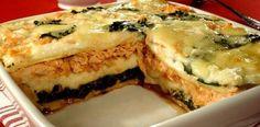 Receitas Supreme – Receita de Lasanha especial de salmão