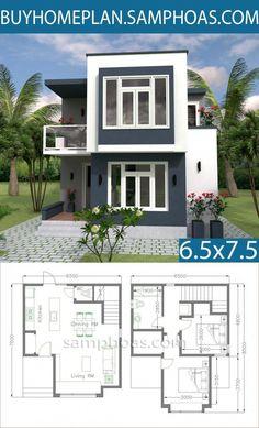 Duplex House Plans, Bedroom House Plans, Dream House Plans, House Floor Plans, Dream Houses, Contemporary House Plans, Modern House Plans, Small House Plans, Dream House Pictures
