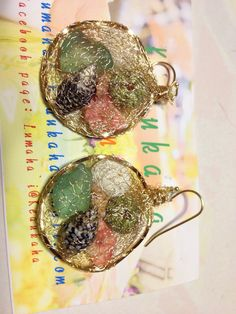 """Nui Makana"" shell earrings"
