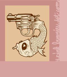 JEREMY FISH http://www.widewalls.ch/artist/jeremy-fish/ #illustration