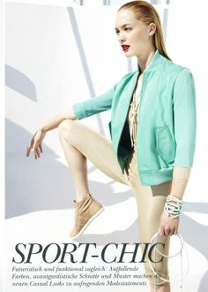 Elle Germany March 2012 Editorial - SPORT-CHIC