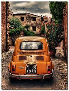 Fiat 500, Toscane