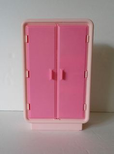 1978 Vintage Barbie Dream Furniture Collection Armoire and Original Box