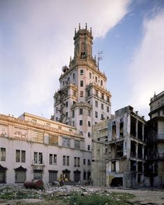 Cuban Telephone Compnay   building was completed in 1927. It is listed among the many buildings designed by the Cuban architectural firm Morales and Company. The Cuban Telephone Company building in Havana closely resembles the Telefónica building in Madrid