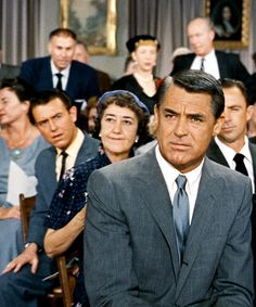 """""""I bid two thousand"""" - (Cary Grant).  from """"NORTH BY NORTHWEST"""""""