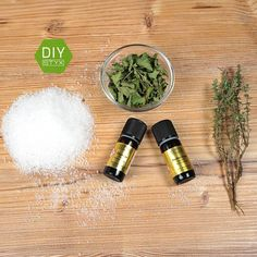 #diy #badesalz #erkältung #STYX #naturkosmetik #selbermachen #kräuter Salt, Wellness, Food, Diy Bath Salts, Organic Beauty, Diy Crafts, Tips, Gardening, Meal