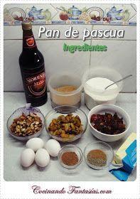 Cocinando Fantasías: Pan de Pascua Húmedo