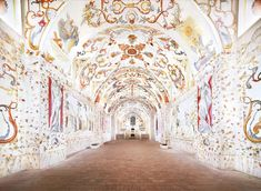 Benediktinerstift Altenburg IV 2014. This fabulously detailed, inventive fresco is the work of 18th-century Austrian artist Paul Troger, whose paintings decorate many of Altenburg Abbey's lofty rooms. Together, these works comprise his most ambitious project.