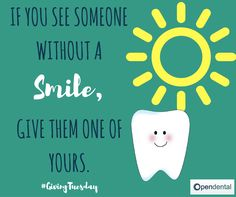 #GivingTuesday. Give a smile, get a smile :)