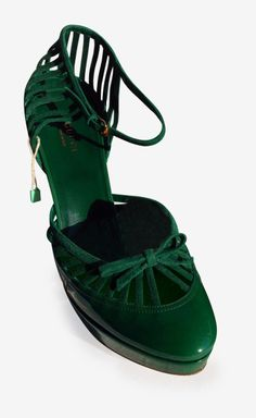 Gucci Green Pump   VAUNTE