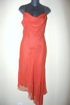 $89. Vintage silk Dina Bar-El Vintage Evening Gown