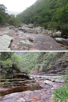 Trilha para a Cachoeira da Fumacinha na Chapada Diamantina