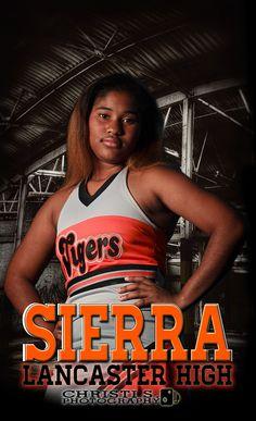Waxahachie Lifestyle Senior Photographer; Cheerleading Posters