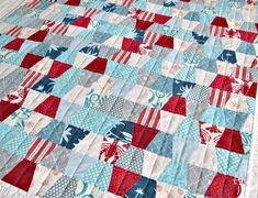 Saltwater Quilts: Tumblers Beach Bound