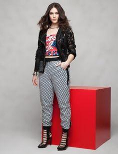 Lace Jacket | Floral Print Top | Stretch Link Bracelets |  Womens' Top Looks | ELOQUII