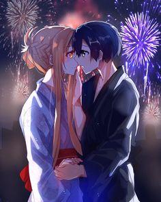 Anime Couples Manga, Cute Anime Couples, Anime Girls, Schwertkunst Online, Online Anime, 1440x2560 Wallpaper, Sword Art Online Wallpaper, Kirito Asuna, Sword Art Online Kirito
